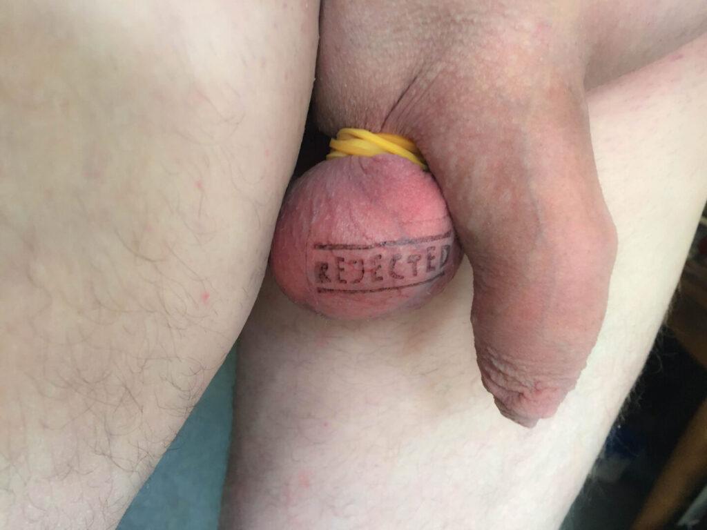 afviste og ubrugelige testikler